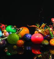"""Float Boat and Ikebana Boat,"" Dale Chihuly"