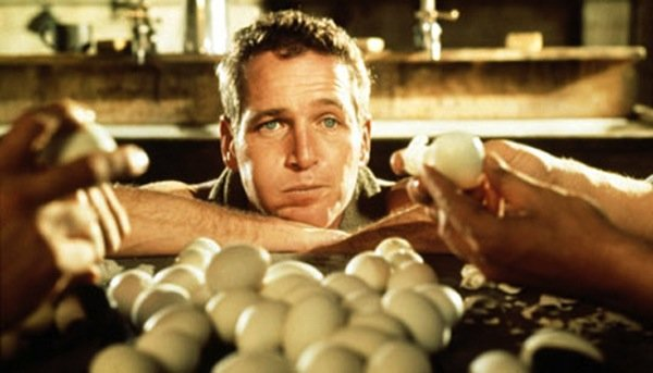 "Paul Newman as ""Cool Hand Luke."""
