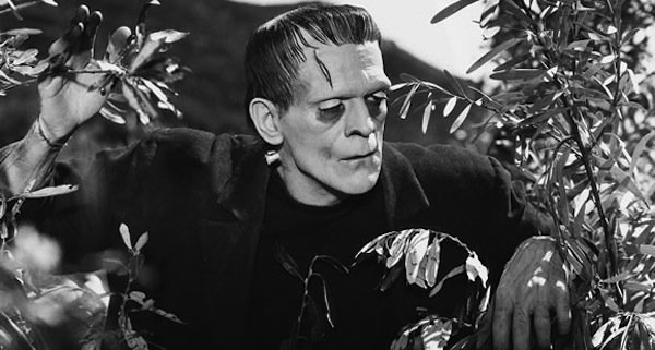 "Boris Karloff as the monster in James Whale's ""Frankenstein."""