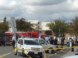 The bomb squad is seen at SDSU as police investigate a suspicious item a the ...