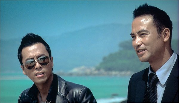 "Donnie Yen and Simon Yam in ""Kill Zone."""