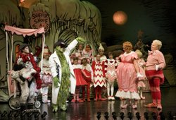 "13th year of ""How the Grinch Stole Christmas"" at The Old Globe Theatre"