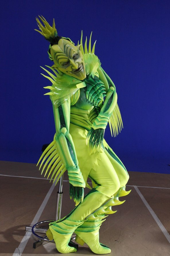 The Green Goblin Costume Worn By Old Globe Veteran Actor
