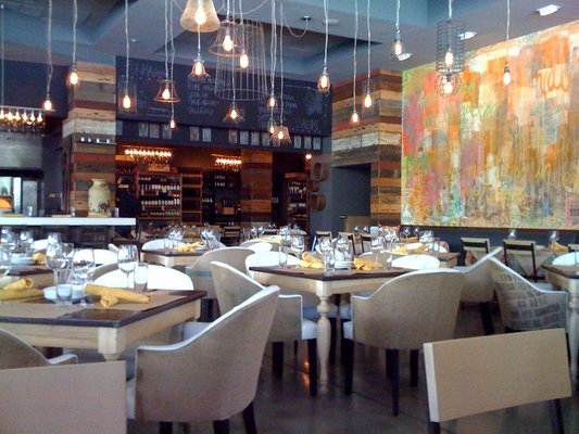 the dining room at cucina urbana on fifth avenue in san diego ... - Cucina Urbana