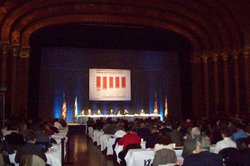 Governor-elect Jerry Brown held a conference with about 200 lawmakers Wednesd...