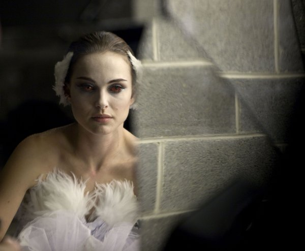 "Natalie Portman is a ballerina in ""Black Swan."""