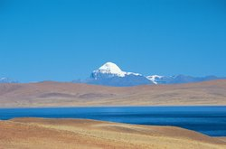 Mt. Kailash, perhaps the holiest site in Tibet.