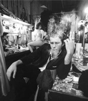 Tom Waits by photographer Joel Brodsky.
