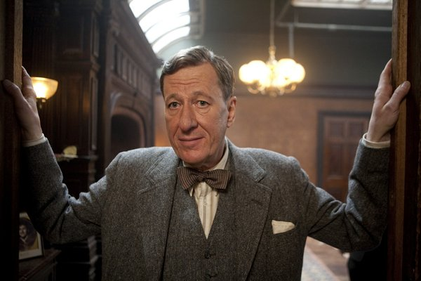 "Geoffrey Rush plays an unconventional speech therapist in ""The King's Speech."""
