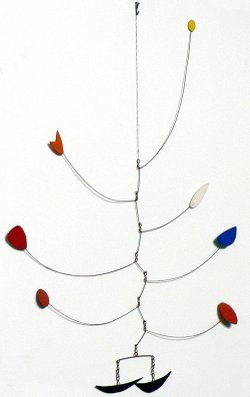 A cheerfully unassuming-looking mobile, received by the owner's aunt in 1958 as a gift from Alexander Calder. Considered to be the inventor of the mobile art form, Calder's kinetic sculptures often have been imitated. Appraiser Christopher Kennedy believes the mobile could be worth as much as $400,000 to $1M, making it the second highest value appraisal in ROADSHOW history!
