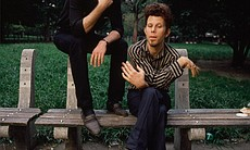 Tom Waits and filmmaker Jim Jarmusch.  (8810)