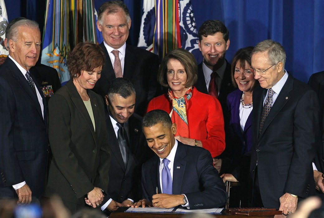 news obama signs dont tell repeal