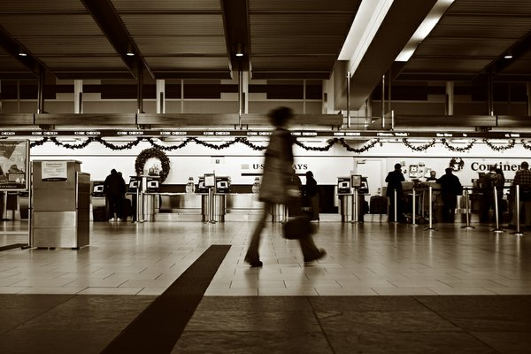 Flickr member Rob644 took this a couple of days before Christmas at the San Diego airport. Doesn't look busy at all!