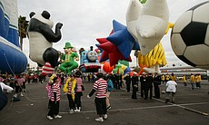 The Port of San Diego Big Bay Balloon Parade will take place Dec.30, featuring 22 balloons.