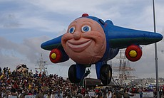 Jay Jay the Jet Plane was one of the balloons f...
