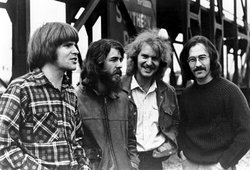 Members of the band Creedence Clearwater Revival.