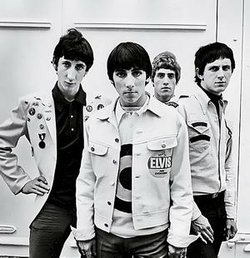 A very mod look for The Who in 1965.