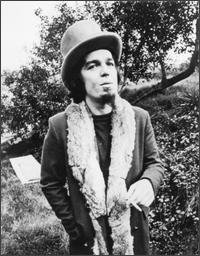 A young Captain Beefheart, whose music influenced many bands over the years.