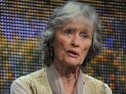 "During PBS' ""The Born Free Story"" session at the TCA Summer Press Tour in Los Angeles on August 5, 2010, actress, campaigner and founder and Trustee of the Born Free Foundation Virginia McKenna (pictured), discusses what's changed since the rescue and release of three lion cubs by the Adamson family."