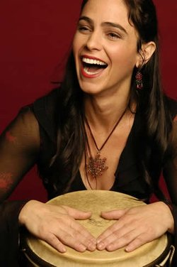 Local percussionist Monette Marino-Keita is playing at Anthology tonight!
