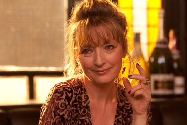"Lesley Manvelle stars as Mary in ""Another Year."""