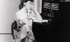 """Lily Tomlin as Ernestine on """"Laugh-In."""" (8993)"""