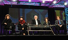 "PBS' ""The Best Of Laugh-In"" TCA Winter 2011 session panel including: Ruth Buz..."