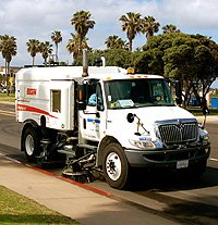 San Diego will put several city services out to bid including the street swee...