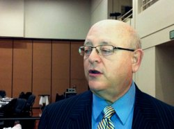 University of California President Mark Yudof said proposed budget cuts to hi...