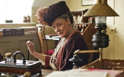 "Dame Maggie Smith (Violet, Dowager Countess of Grantham from ""Downton Abbey"")"