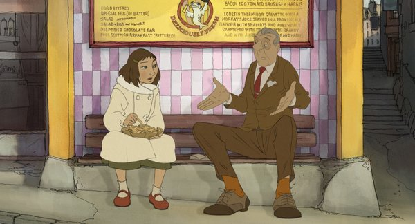 """The father and daughter relationship in """"The Illusionist"""" was supposedly inspired by one of  Jacques Tati's real daughters."""