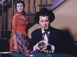 James Garner as Bret Maverick on