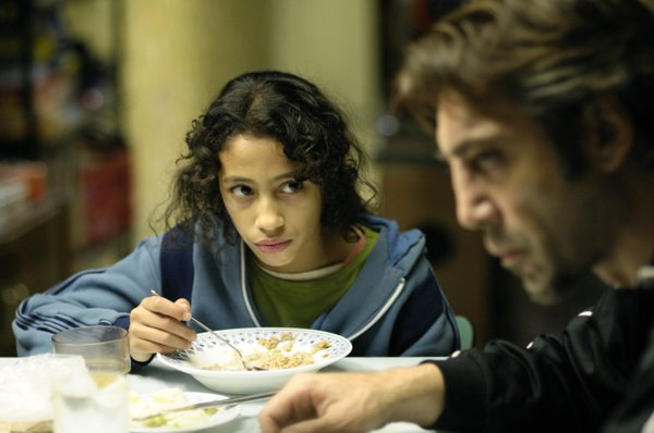 "Uxbal (Javier Bardem) is diagnosed with terminal cancer and must decide how to plan for his young children in ""Biutiful."""