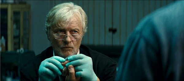 "Rutger Hauer plays a mortician in ""The Rite."""
