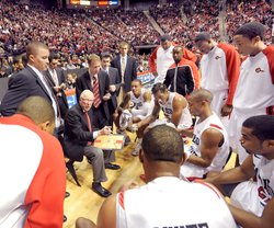 The SDSU basketball team, led by coach Steve Fisher, is ranked no. 7 in the n...