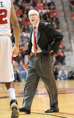SDSU Basketball coach Steve Fisher has been with the team for 12 seasons.
