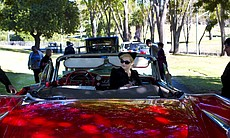 A parade of classic, antique cars drove Cissy C...