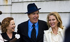 Among the guests of honor were Chandler biographer Judith Freeman, actor Powers Booth, and Aissa Wayne, an attorney and the daughter of film star John Wayne. The latter helped secure the court order to allow the internment of Cissy Chandler's ashes.