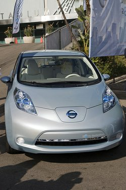 Nissan Leaf Electric Vehicle