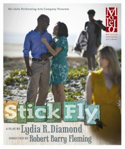 "Mo`olelo's production is ""Stick Fly"" opens tonight and runs through March 20th at The 10th Avenue Theatre in downtown San Diego."
