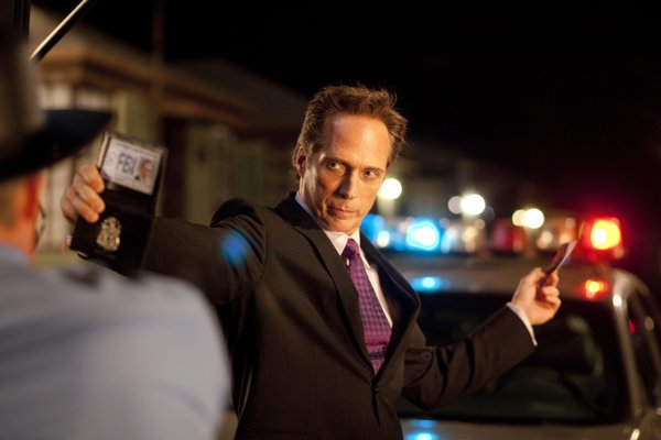 "I love William Fichtner! He plays The Accountant in ""Drive Angry."""
