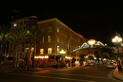 San Diego's Gaslamp Quarter on Oct. 22, 2008. The neighborhood is located within a redevelopment area in downtown.