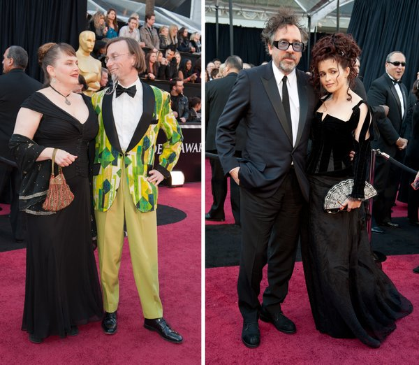 "Some people can get away with weird and some people can't. If your name is Geefwee Boedoe and you are nominated for Best Animated Short then you can wear an animated tux. And if you are Helena Bonham Carter -- and Tim Burton's main squeeze -- you can rock an eccentric frock even if you did get nominated for playing royalty in ""The King's Speech."""