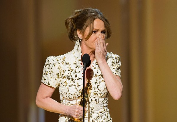 First the low cut ads begging for an Oscar and then Melissa Leo drops the f-bomb in her acceptance speech.