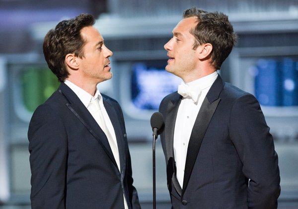 Best presenters: Robert Downey, Jr. and Jude Law.