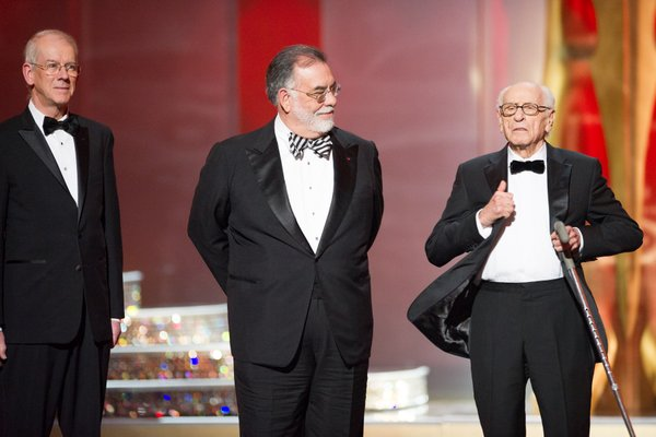 Kevin Brownlow, Francis Ford Coppola, and Eli Wallach get cheated out of their moment to shine as honorary winners.