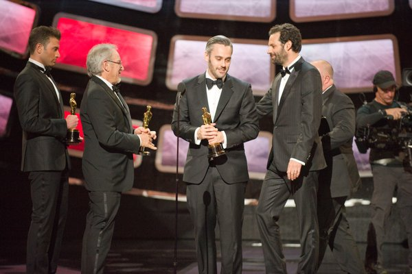 """""""The King's Speech"""" wins Best Picture."""
