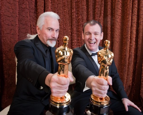 Make Up winners Rick Baker and Dave Elsey.