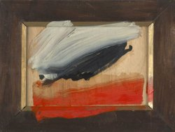 Howard Hodgkin. Snow Cloud. 2009-2010. Oil on wood. Monica and Peter Lund, Oslo.