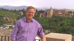 Rick Steves in Granada, Spain